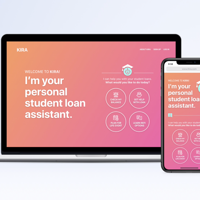 KIRA – Chatbot for Student Loan Reimbursement